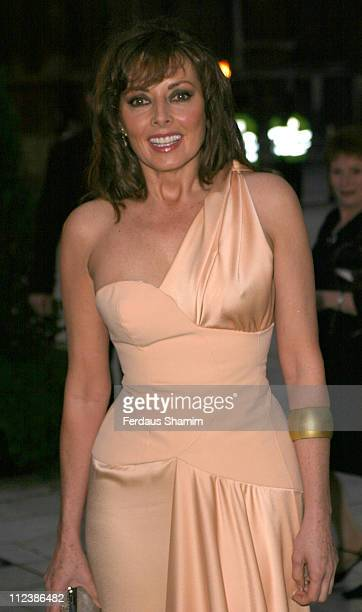 Carol Vorderman during ITV's 50th Anniversary Royal Reception Outside Arrivals at Guildhall in London Great Britain