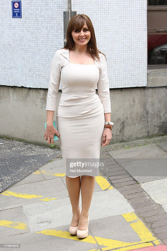 <a gi-track='captionPersonalityLinkClicked' href=/galleries/search?phrase=Carol+Vorderman&family=editorial&specificpeople=209224 ng-click='$event.stopPropagation()'>Carol Vorderman</a> seen at the ITV Studios on June 27, 2013 in London, England.