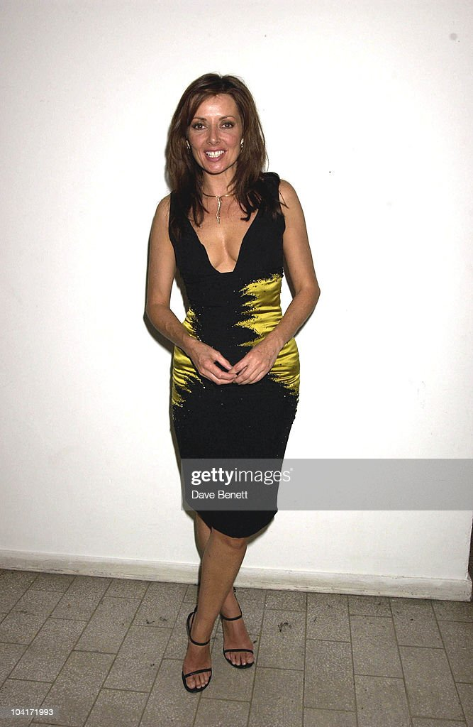 Carol Vorderman, The Grand Prix Ball At The Royal Albert Hall And He After Party At The Royal College Of Art, Celebraties Joined Motor Racing People To Help Raise Money For Doctor Sid Watkins Charity The Brain And Spine Foundation