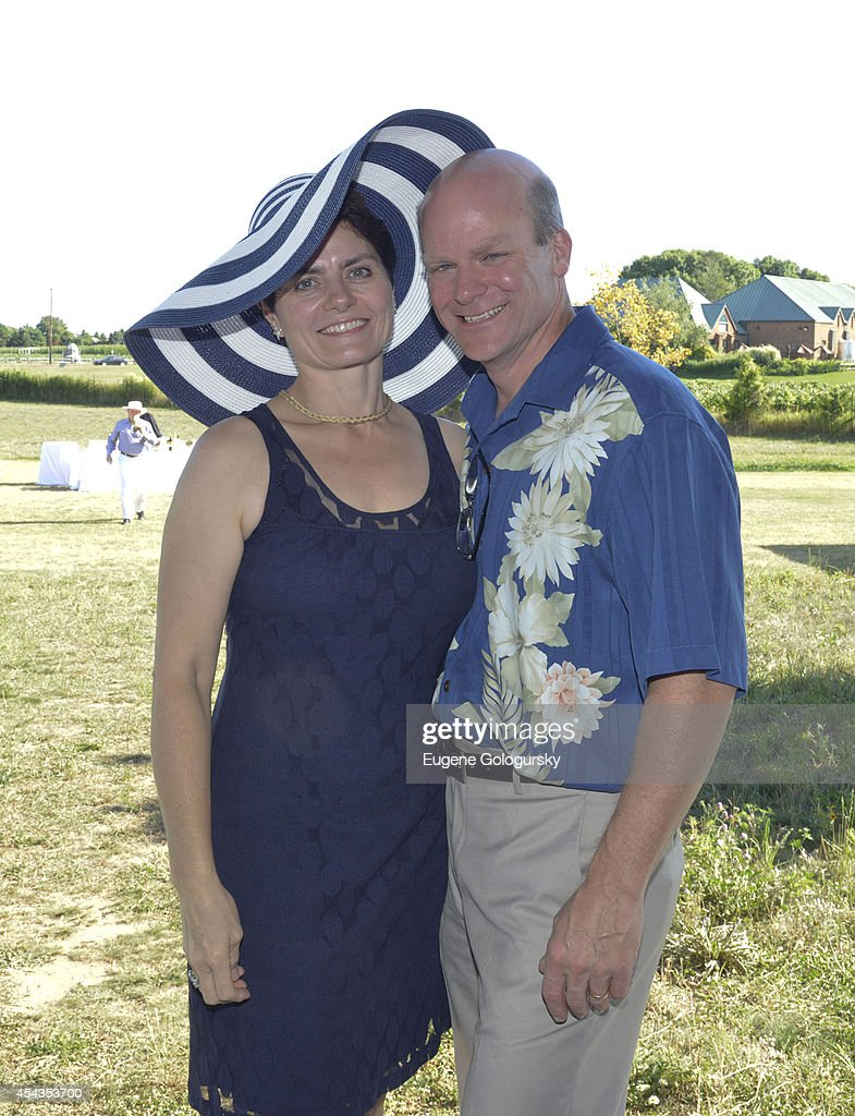 Carol Washer and Cliff Washer attend the Naming Celebration For Stewart F. Lane & Bonnie Comley Event Lawn at the Parrish Art Museum on August 29, 2014 in Water Mill, New York.
