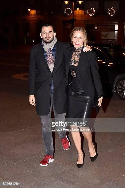 Carola Baleztena and Emiliano Suarez attend 'La Reina de Espana' private party on November 24 2016 in Madrid Spain