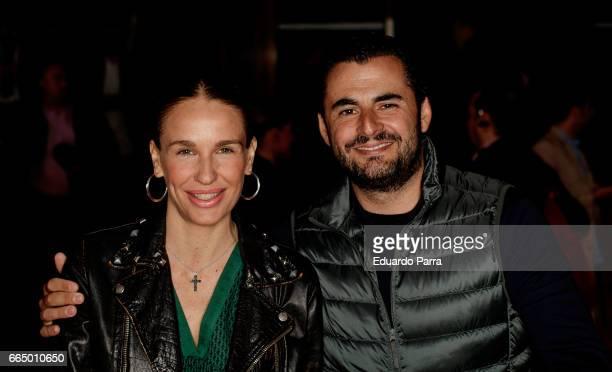 Carola Baleztena and Emiliano Suarez attend the 'El Pelotari y la Fallera' premiere at Callao cinema on April 5 2017 in Madrid Spain