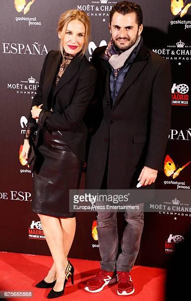 Carola Baleztena and Emiliano Suarez attends 'La Reina de Espana' premiere at Callao City Lights on November 24 2016 in Madrid Spain