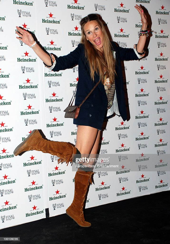 Carola Beleztena attends the Heineken Private Party on May 20, 2010 in Madrid, Spain.