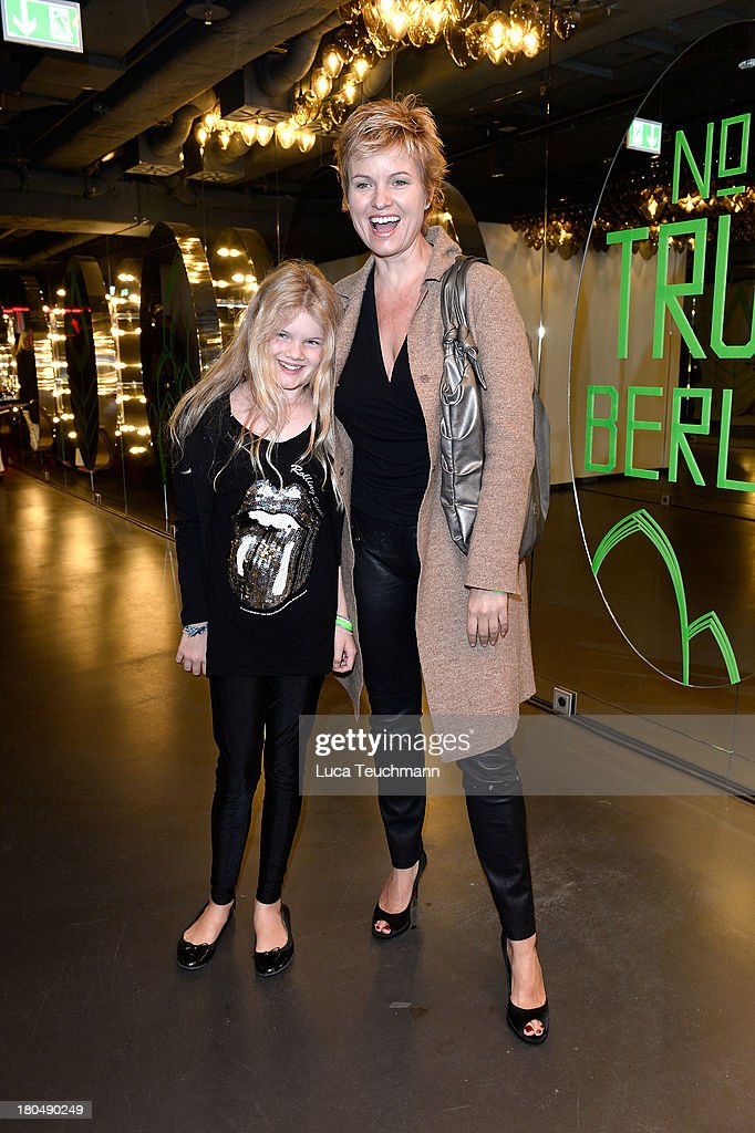Carola Ferstl and daughter Julia attend TRUE BERLIN No. 1 By Shan Rahimkhan & Ghd on September 13, 2013 in Berlin, Germany.