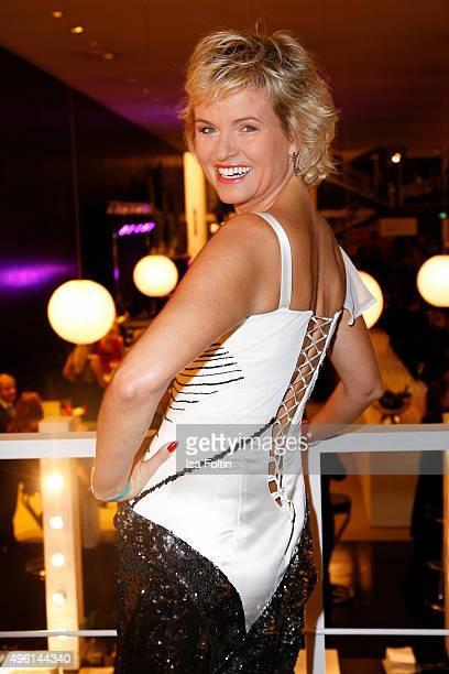 Carola Ferstl attends the 22nd Opera Gala at Deutsche Oper Berlin on November 7 2015 in Berlin Germany