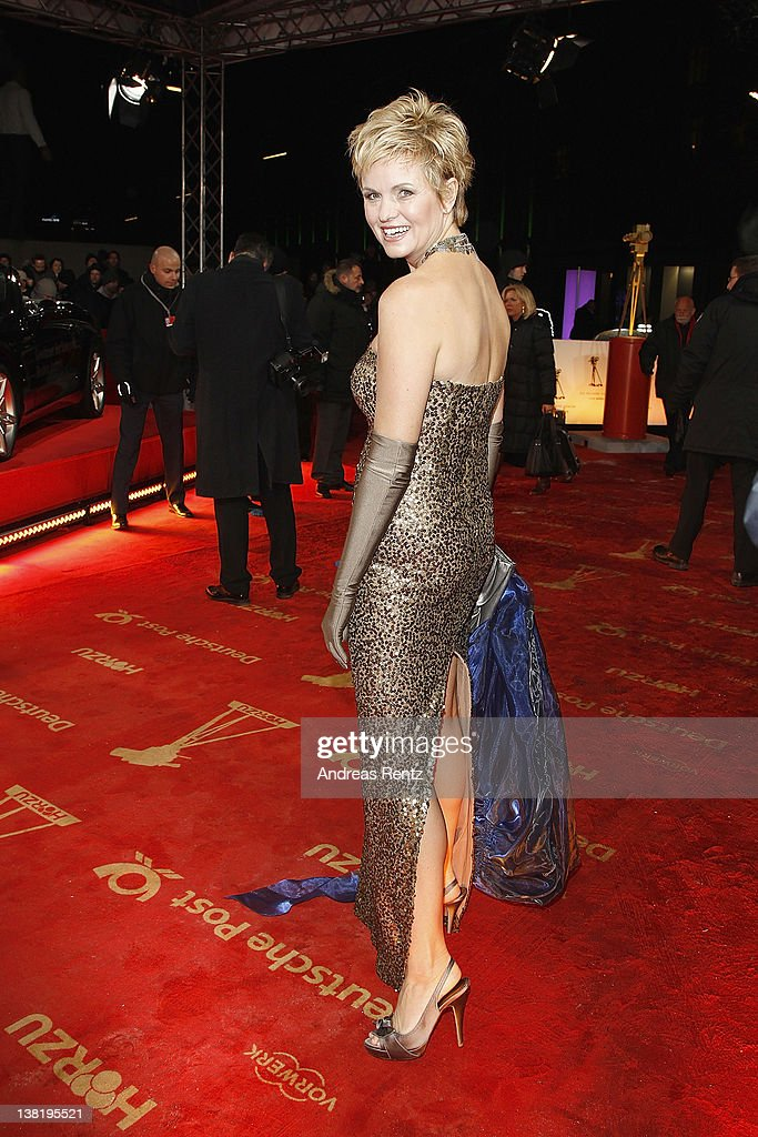 Carola Ferstl attends the 47th Golden Camera Awards at the Axel Springer Haus on February 4 2012 in Berlin Germany