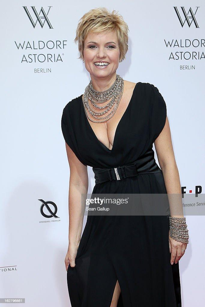 Carola Ferstl attends 'Waldorf Astoria Berlin Grand Opening' at Waldorf Astoria Berlin on February 27, 2013 in Berlin, Germany.