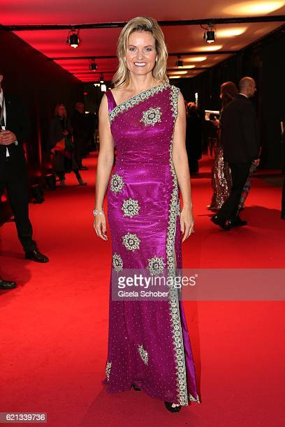 Carola Ferstl during the 23rd Opera Gala benefit to 'Deutsche AIDSStiftung' at Deutsche Oper Berlin on November 5 2016 in Berlin Germany