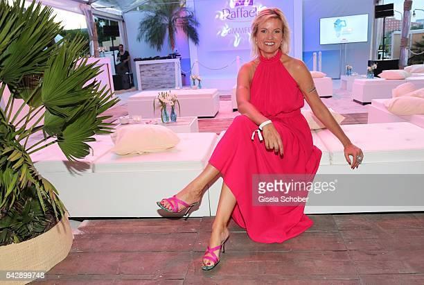 Carola Ferstl during the Raffaello Summer Day 2016 to celebrate the 26th anniversary of Raffaello on June 24 2016 in Berlin Germany