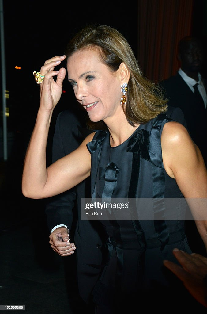 Carole Bouquet attends 'La Cite Du Cinema' Launch - Red Carpet at Saint Denis on September 21, 2012 Paris, France.