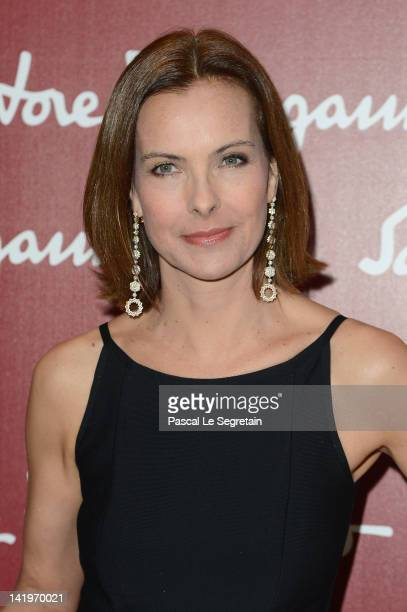 Carole Bouquet attends Leonardo Da Vinci's Latest Exhibition 'The Saint Anne' Leonardo Da Vinci's Ultimate Masterpiece at Musee du Louvre on March 27...