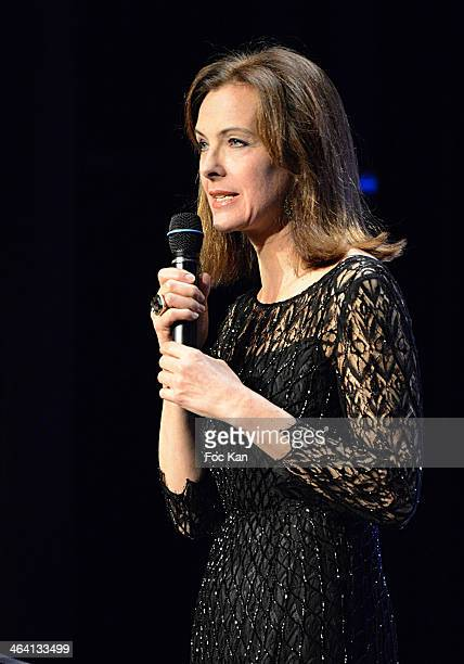 Carole Bouquet attends 'Les Lumieres 2014' Cinema Awards 19th Ceremony at Espace Cardin on January 20 2014 in Paris France