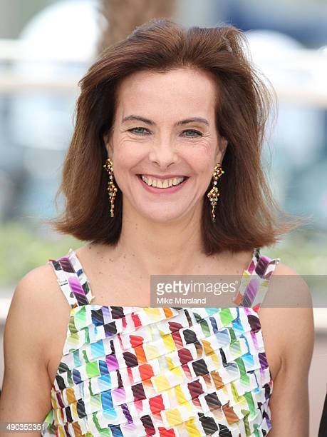 Carole Bouquet attends the Jury photocall at the 67th Annual Cannes Film Festival on May 14 2014 in Cannes France