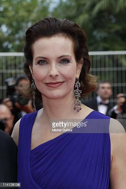 Carole Bouquet attends the 'Sleeping Beauty' premiere during the 64th Annual Cannes Film Festival at Palais des Festivals on May 12 2011 in Cannes...
