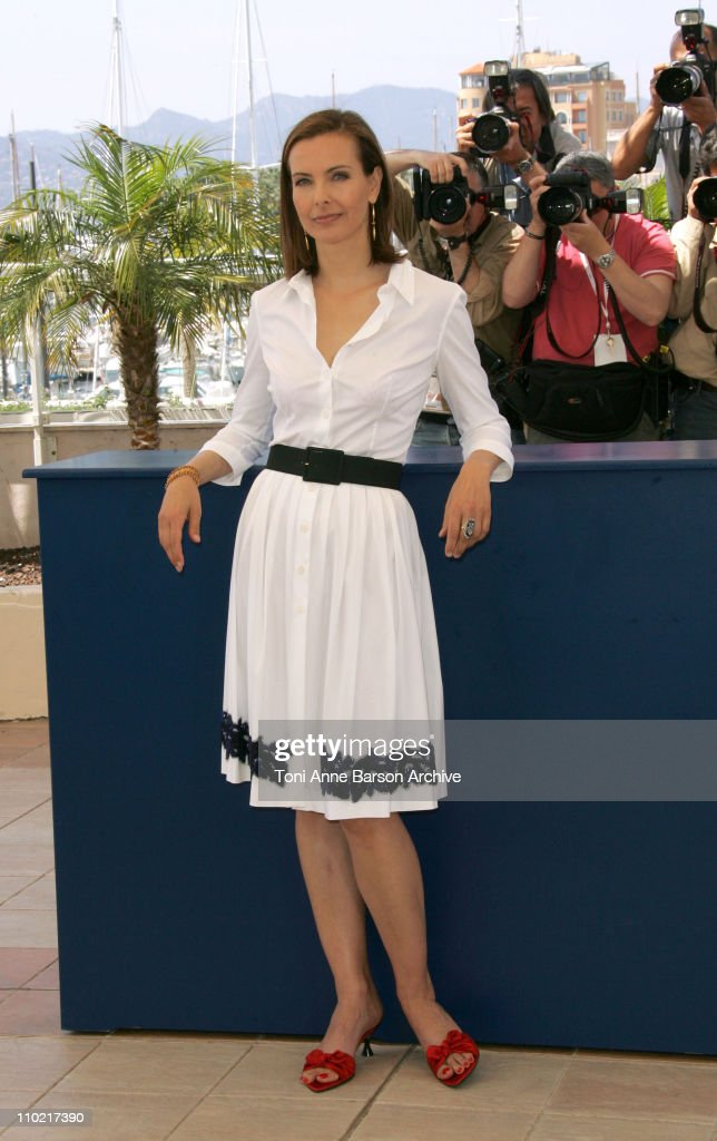 <a gi-track='captionPersonalityLinkClicked' href=/galleries/search?phrase=Carole+Bouquet&family=editorial&specificpeople=208685 ng-click='$event.stopPropagation()'>Carole Bouquet</a> during 2005 Cannes Film Festival - 'Nordeste' Photocall at Palais Du Festival in Cannes, France.