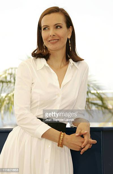 Carole Bouquet during 2005 Cannes Film Festival 'Nordeste' Photocall at Palais Du Festival in Cannes France