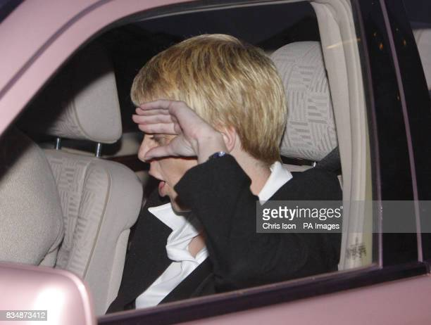 Carole Dennis leaves Winchester Crown Court after giving evidence in the trial of Maninder Pal Singh Kohli who is accused of the abduction rape and...