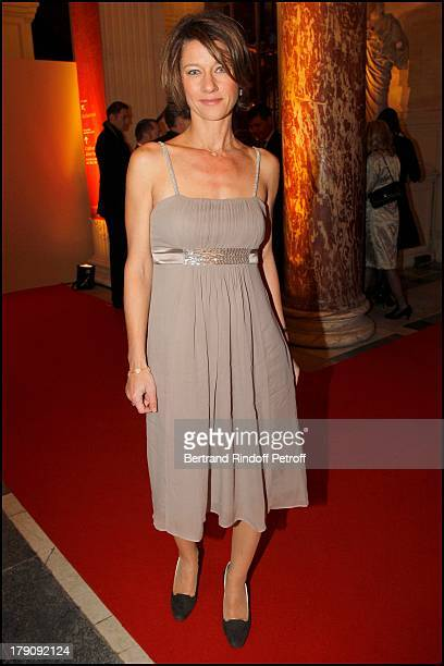 Carole Gaessler at Fundraising Dinner For The Aides Foundation Followed By An Auction At The L'Ecole Des Beaux Arts In Paris