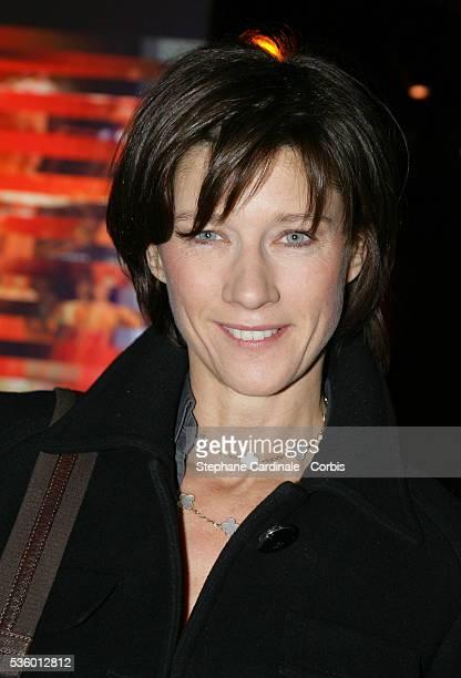 Carole Gaessler at the France Television Foundation presentation