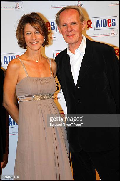 Carole Gaessler Bertrand Mosca at Fundraising Dinner For The Aides Foundation Followed By An Auction At The L'Ecole Des Beaux Arts In Paris