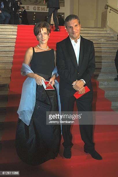 Carole Gaessler with Rachid Arhab