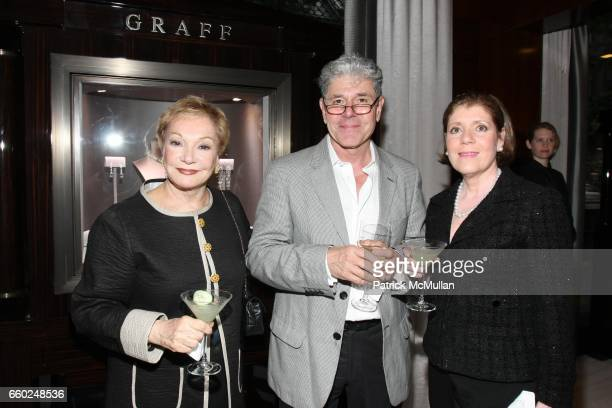 Carole Gratale Vito D'Alessandro and Josephine Kairis attend The Private Unveiling of GRAFF Time Watch Collection 1 at Graff on June 11 2009 in New...