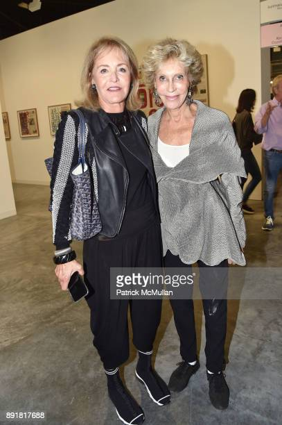 Carole Guest and Marjorie Reed Gordon attend Art Basel Miami Beach Private Day at Miami Beach Convention Center on December 6 2017 in Miami Beach...