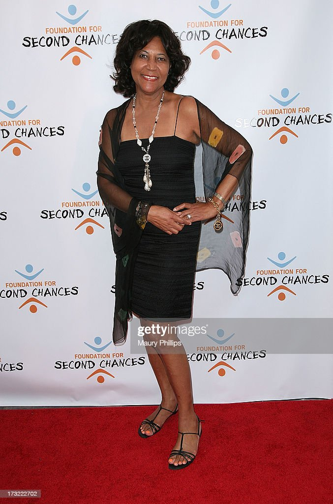Carole Jones arrives at Foundation For Second Chances 'Harlem Nights' Casino event at Huntley Hotel on July 9, 2013 in Santa Monica, California.