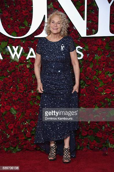 Carole King attends the 70th Annual Tony Awards at The Beacon Theatre on June 12 2016 in New York City