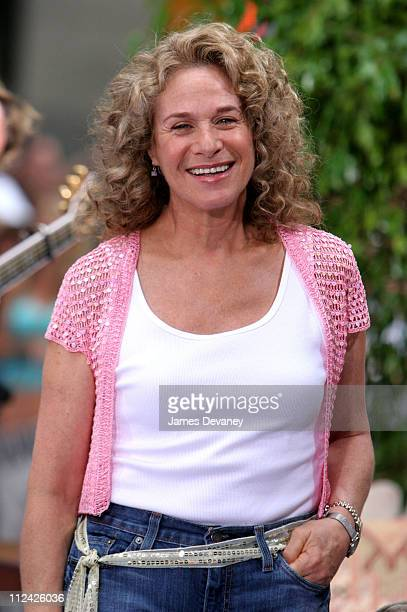 Carole King during Carole King Performs on the 2005 NBC's 'The Today Show' Summer Concert Series at NBC Studios Rockefeller Plaza in New York City...