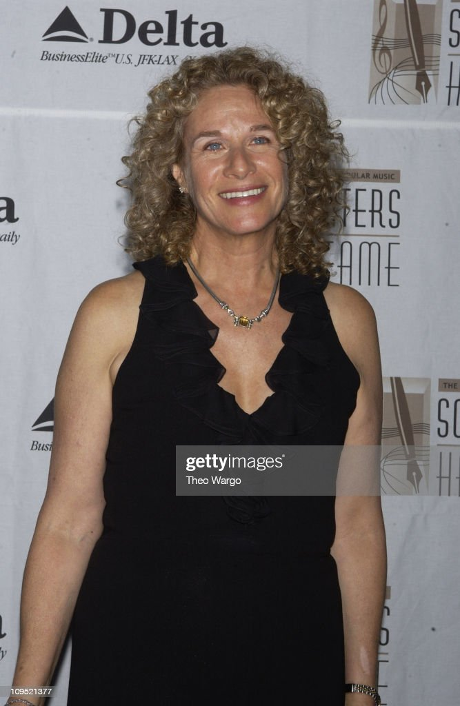 Carole King during Songwriters Hall of Fame Awards - Press Room at Sheraton Towers in New York City, New York, United States.