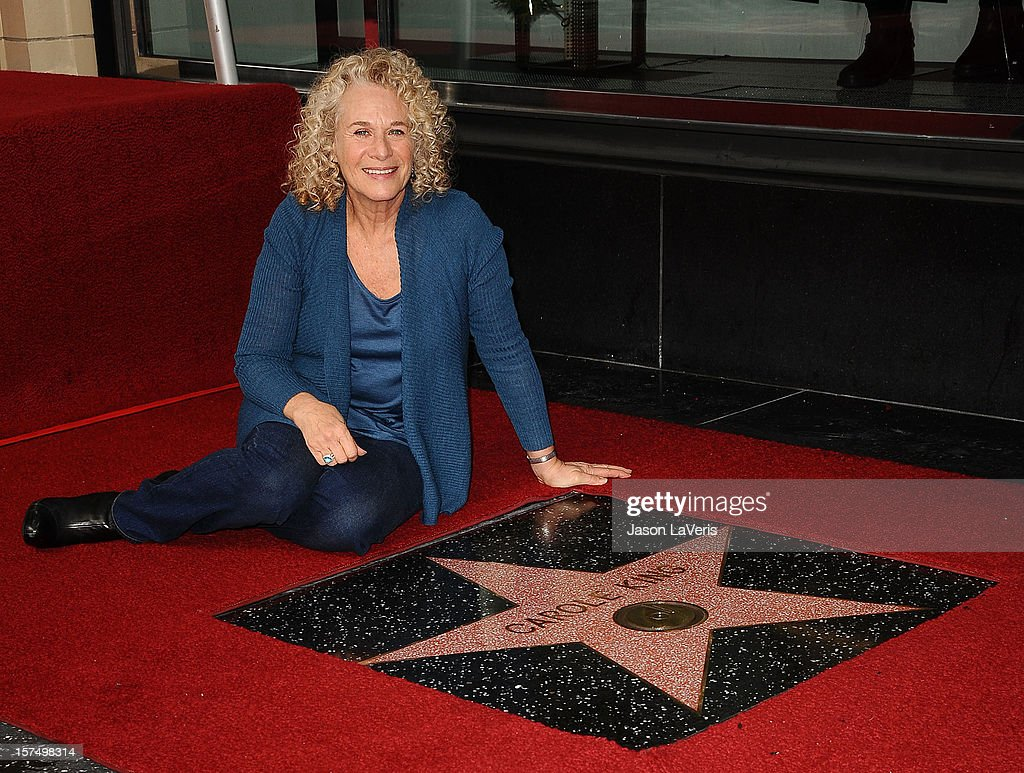 Carole King Honored With Star On The Hollywood Walk Of Fame