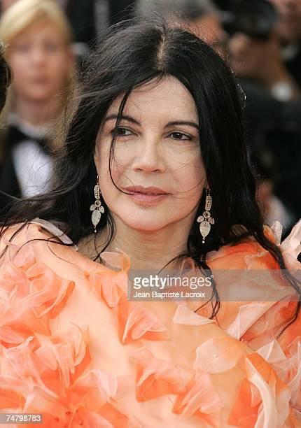 Carole Laure at the Palais des Festival in Cannes France
