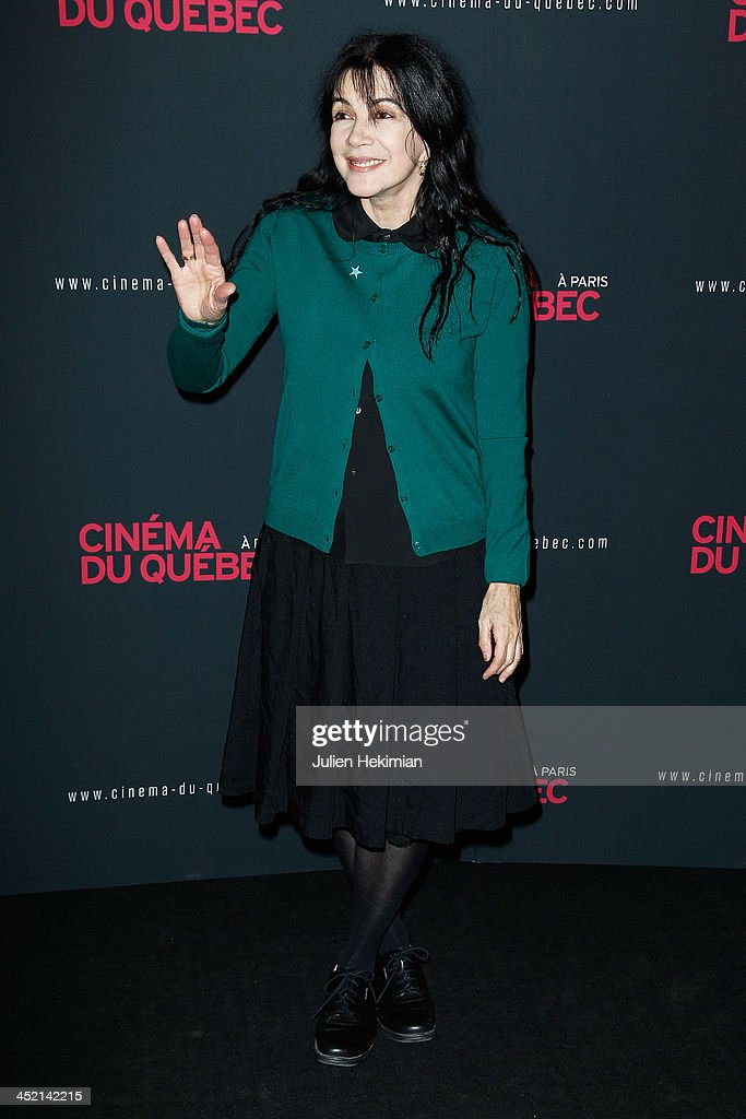 <a gi-track='captionPersonalityLinkClicked' href=/galleries/search?phrase=Carole+Laure&family=editorial&specificpeople=624560 ng-click='$event.stopPropagation()'>Carole Laure</a> attends 'Cinema Du Quebec' Opening Party In Paris at Forum Des Images on November 26, 2013 in Paris, France.