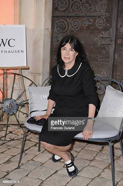 Carole Laure attends the closing dinner hosted by IWC during the Festival du Film Francophone d'Angouleme on August 30 Angouleme France