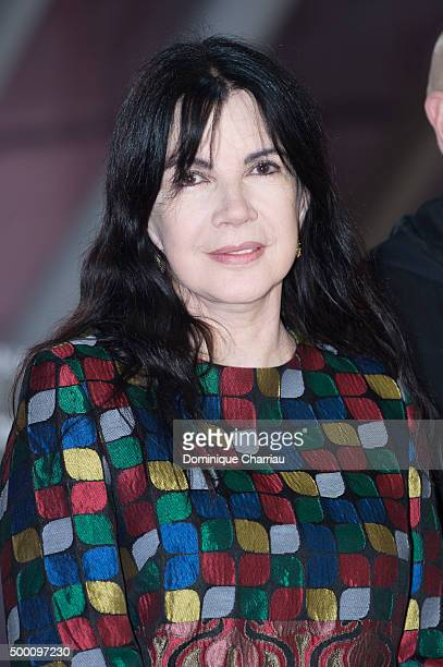 Carole Laure attends the ' MR Holmes' premiere during the15th Marrakech International Film Festival on December 5 2015 in Marrakech Morocco