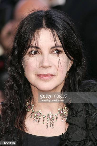 Carole Laure during 2004 Cannes Film Festival 'The Ladykillers' Premiere at Palais Du Festival in Cannes France