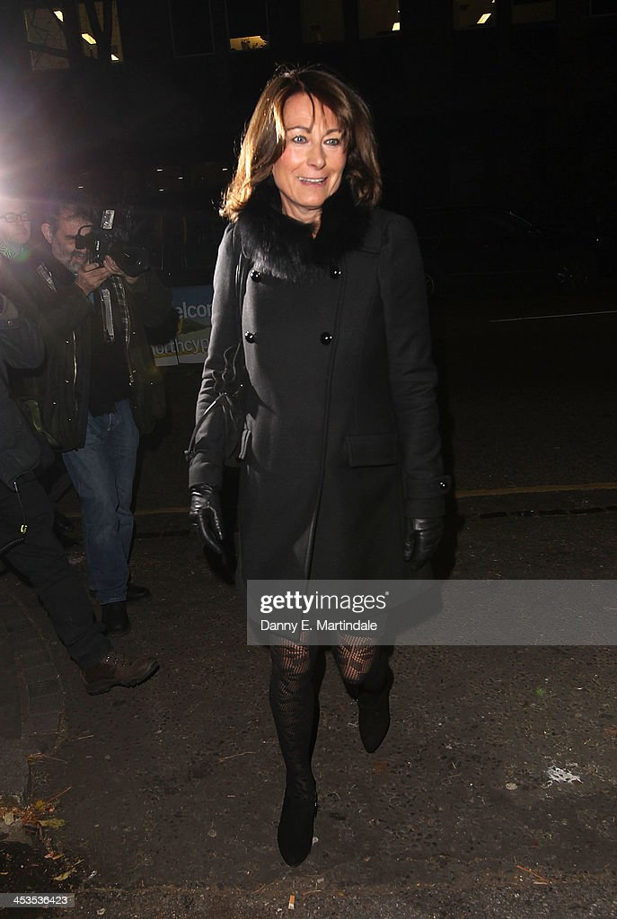 <a gi-track='captionPersonalityLinkClicked' href=/galleries/search?phrase=Carole+Middleton&family=editorial&specificpeople=4079988 ng-click='$event.stopPropagation()'>Carole Middleton</a> attends a Christmas carol concert in aid of the Henry van Strauzenbee memorial fund at St Luke's Church on December 4, 2013 in London, England.