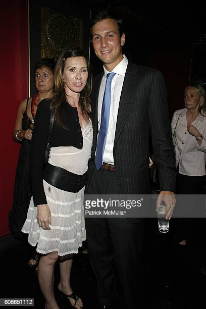 Carole Radziwill and Jared Kushner attend Premiere and After Party of 'SiCKO' By Michael Moore at Premiere Ziegfeld Theater on June 18 2007 in New...
