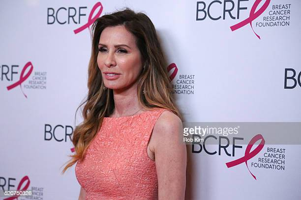 Carole Radziwill attends 2016 Breast Cancer Research Foundation Hot Pink Party at The Waldorf=Astoria on April 12 2016 in New York City