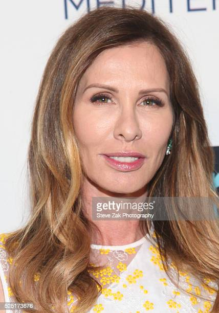 Carole Radziwill attends Bravo's 'Below Deck' Premiere at The IAC Building on April 27 2016 in New York New York