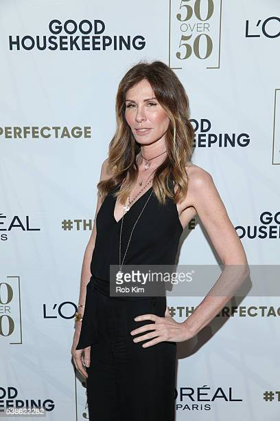 Carole Radziwill attends L'Oréal Paris Good Housekeeping Celebrate 50 Over 50 Event at Hearst Tower on June 7 2016 in New York City