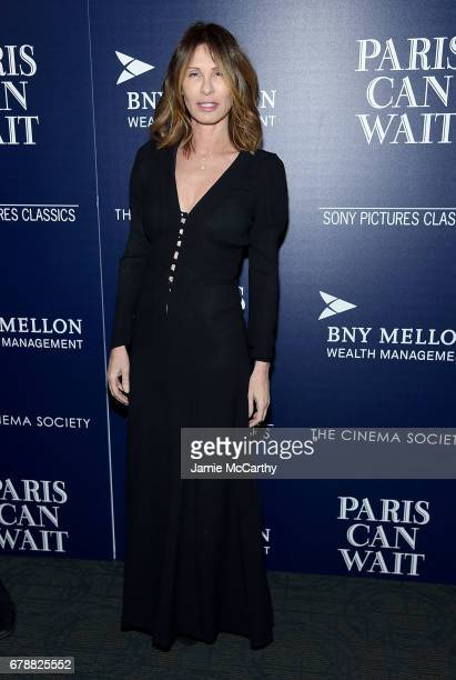 Carole Radzwill attends The Cinema Society Hosts A Screening Of Sony Pictures Classics' 'Paris Can Wait' at Landmark Sunshine Cinema on May 4 2017 in...