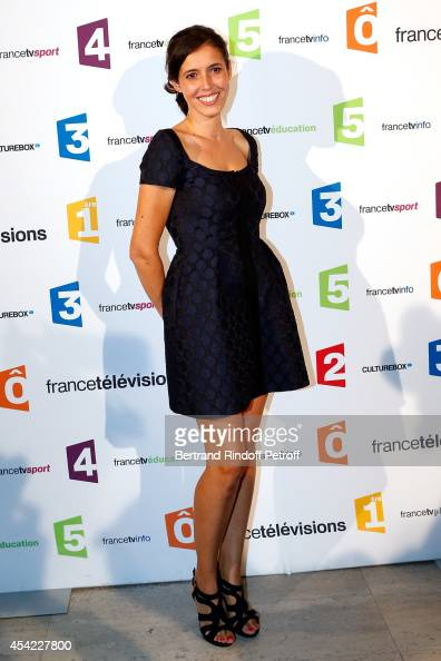 Carole Tolila attends the 'Rentree De France Televisions' at Palais De Tokyo on August 26 2014 in Paris France