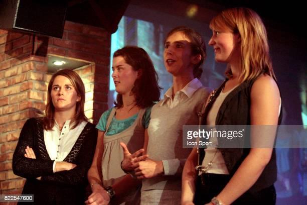 Carole VERGNE / Cecilia BERDER / Solene MARY / Leonore PERRUS Trophee des Lames d'or Le Kare Magik Boulogne Billancourt