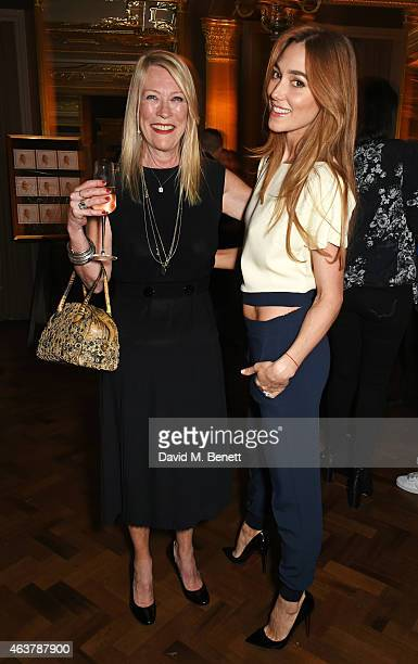 Carole White and Jacqui Ainsley attend the launch of Premier Model Management founder Carole White's autobiography 'Have I Said Too Much My Life In...