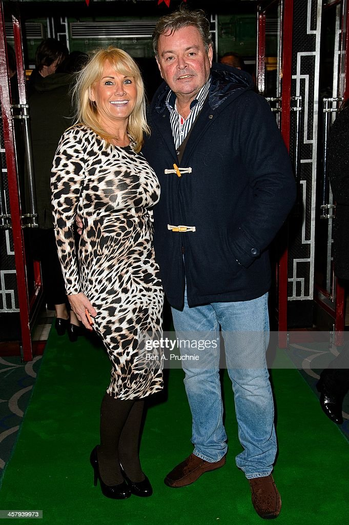 Carole Wright and Mark Wright attend the press night for 'Wicked' at Apollo Victoria Theatre on December 19, 2013 in London, England.