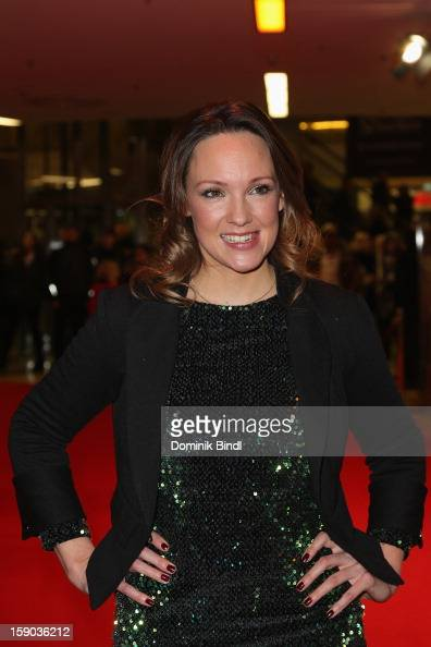 Carolin Kebekus attends the Ritter Rost Premiere on January 6 2013 in Munich Germany