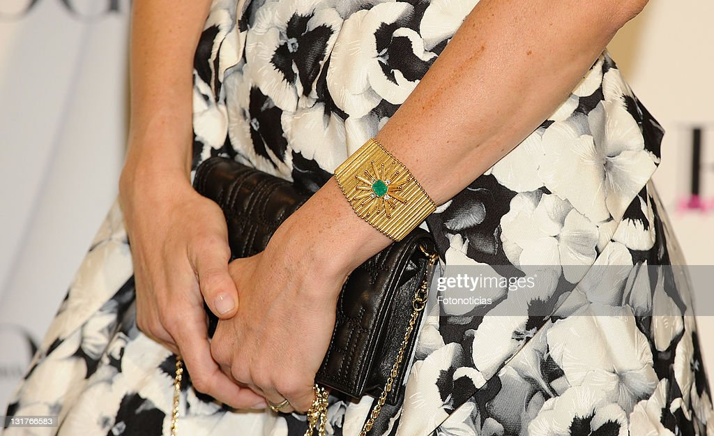Carolina Adriana Herrera arrives to the 'VII Vogue Joyas Awards' (VII Vogue Jewellery Awards) at the Madrid Stock Exchange Building on June 10, 2010 in Madrid, Spain.